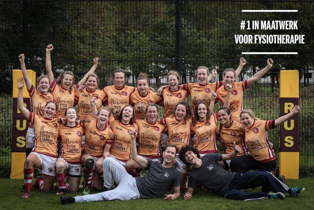 Rus-Rugbyende Utrechtse Studenten